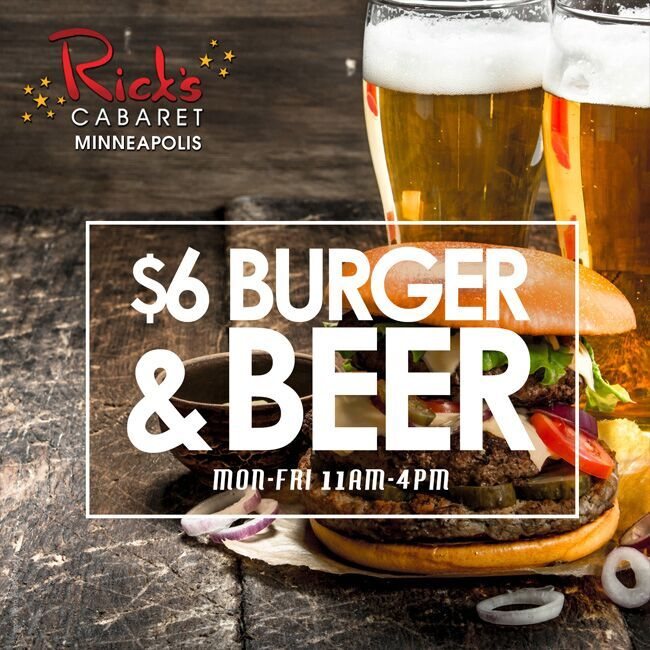 $6 Burger and Beer Special